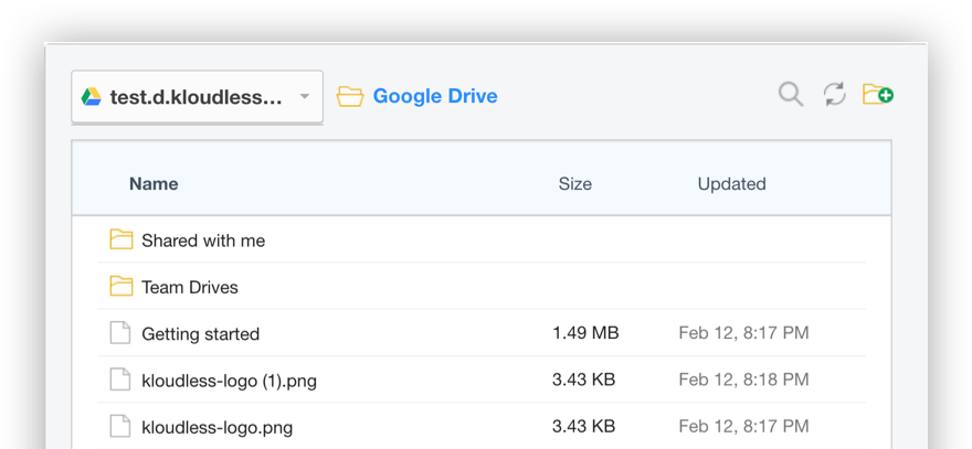 File Explorer - file picker and uploader for Box, Dropbox