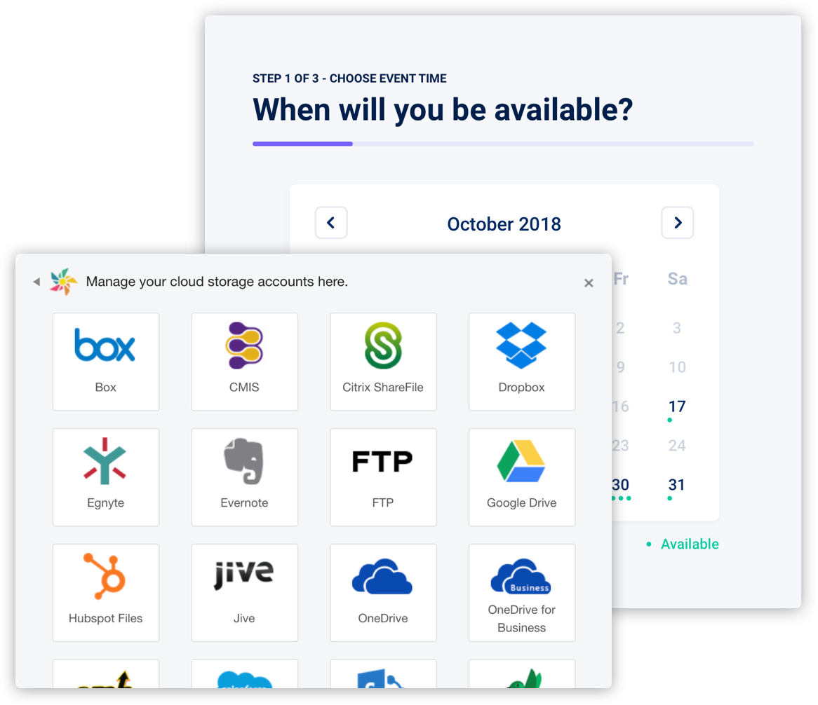 Kloudless | One API for Storage, CRM, Calendar, ITSM and Messaging
